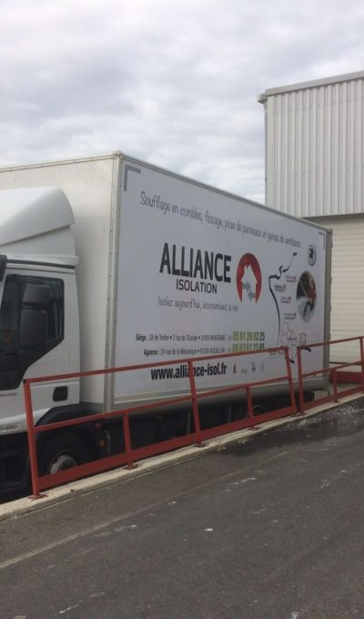 alliance isolation isol camion haute garonne 31 montrabé
